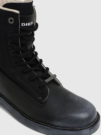 Diesel - D-THROUPER DBB W, Schwarz - Stiefeletten - Image 4