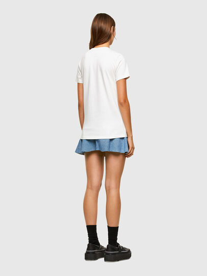 Diesel - T-SILY-E55, Weiß - T-Shirts - Image 6