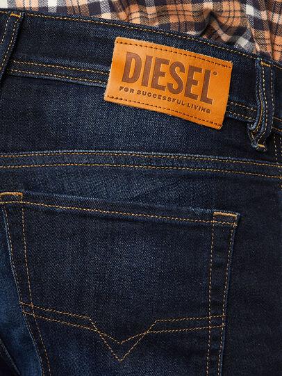 Diesel - Sleenker 009EY, Bleu Foncé - Jeans - Image 4