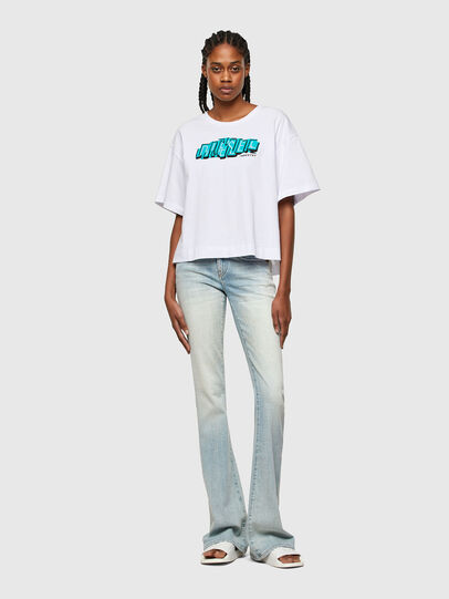 Diesel - T-BOWLESS-A1, Blanc - T-Shirts - Image 4