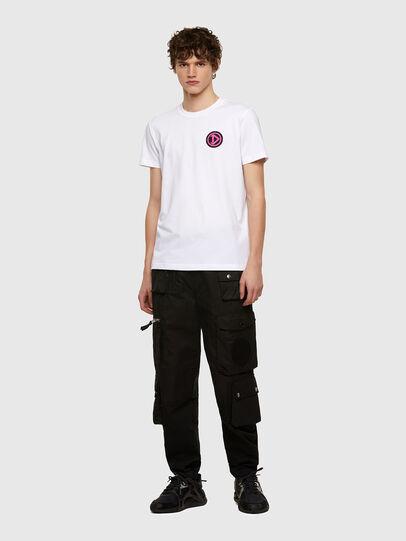 Diesel - T-DIEBIND-E1, Blanc - T-Shirts - Image 4