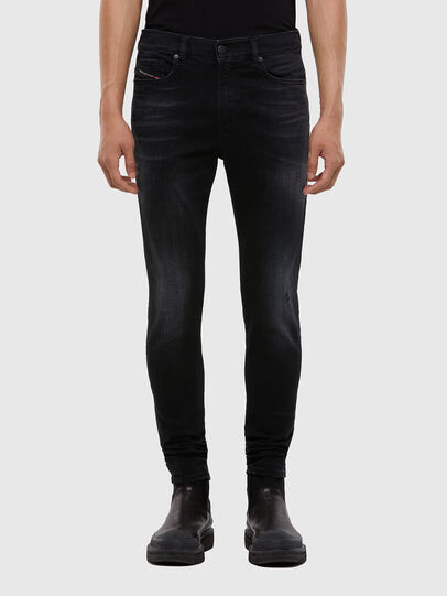 Diesel - D-Amny 0092B, Noir/Gris foncé - Jeans - Image 1