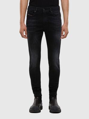 D-Amny 0092B, Schwarz/Dunkelgrau - Jeans