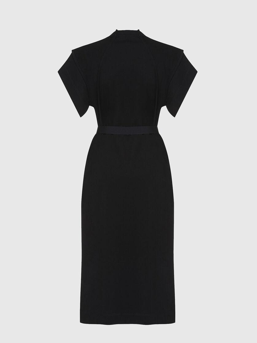D-FLIX-C Damen: Jersey-Kleid mit D-Ring-Gürtel  Diesel