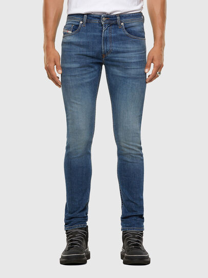Diesel - Thommer 009DB, Mittelblau - Jeans - Image 1