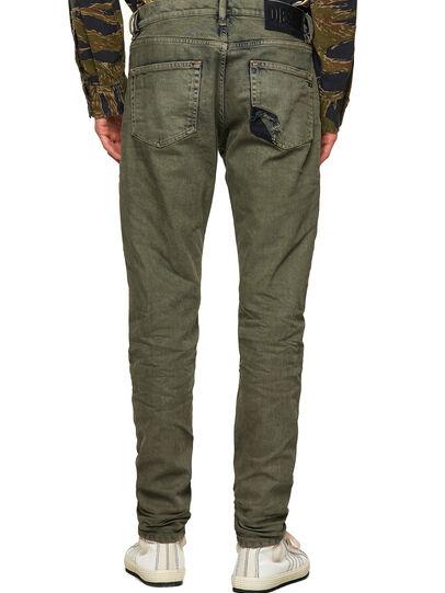 Diesel - D-Strukt 09A50, Vert Militaire - Jeans - Image 2
