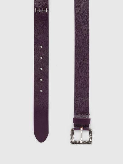 Diesel - B-RIGGE, Dark Violet - Belts - Image 3