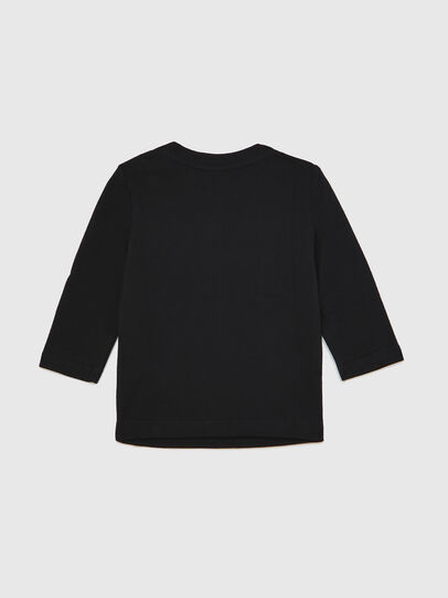 Diesel - TJUSTLOGOB ML, Noir - T-shirts et Hauts - Image 2