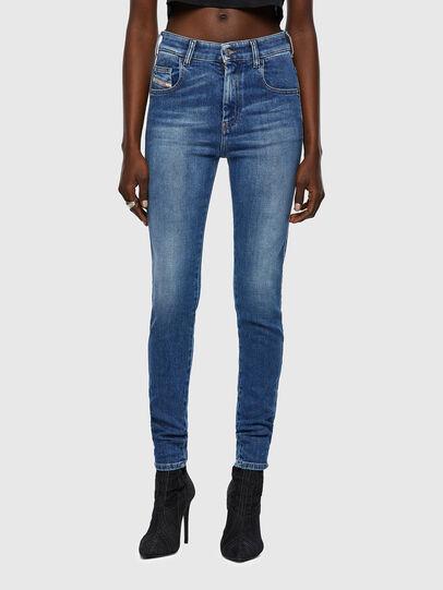 Diesel - Slandy High 009QS, Blu Chiaro - Jeans - Image 1