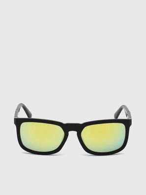 DL0262, Schwarz/Grün - Sonnenbrille