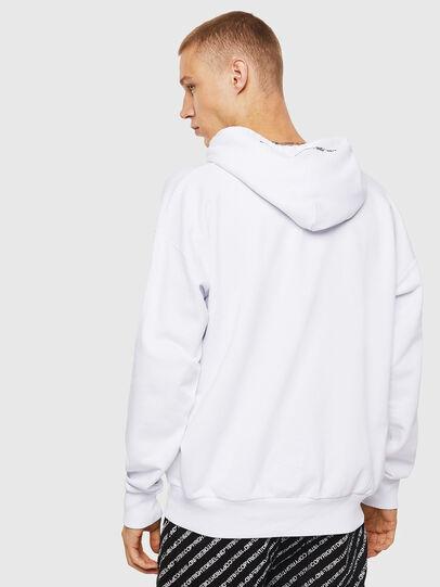 Diesel - S-ALBY-COPY-J1, Weiß - Sweatshirts - Image 3