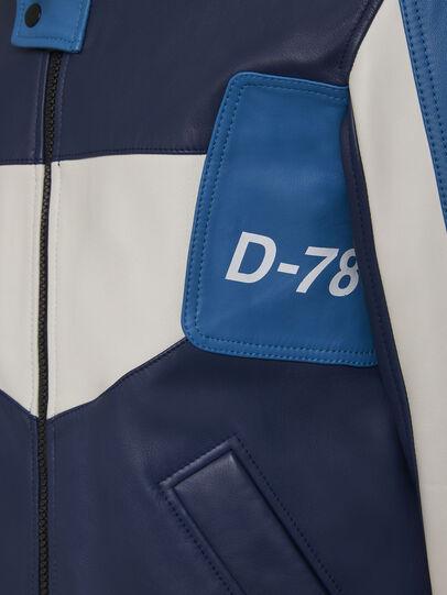 Diesel - L-MAY, Blau/Weiss - Lederjacken - Image 6