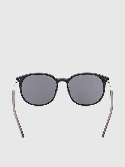 Diesel - DL0353, Black/Yellow - Sunglasses - Image 4