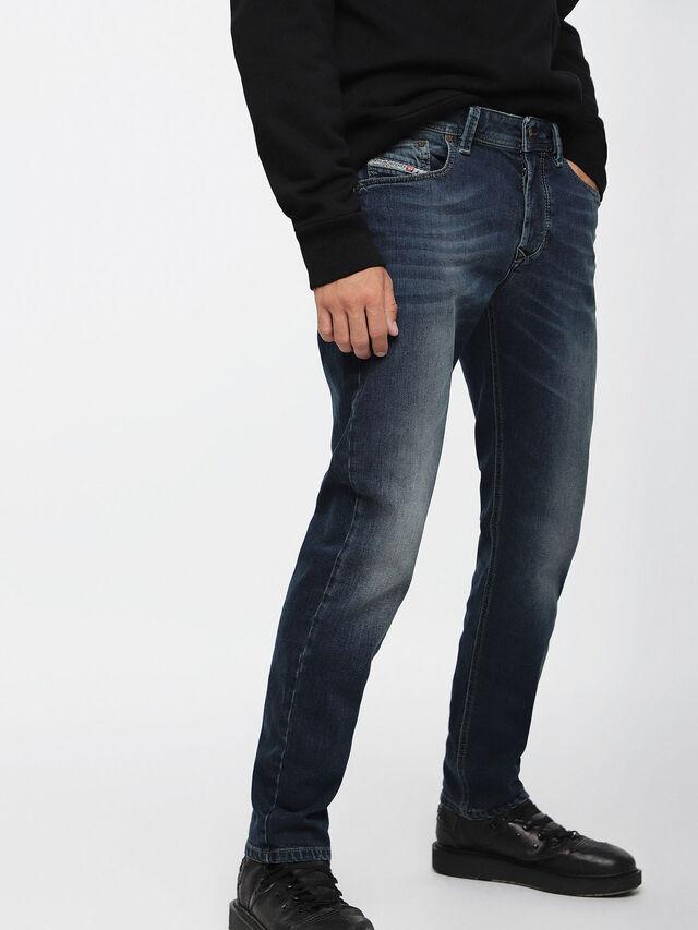 LARKEE-BEEX 084BU, Jeansblau