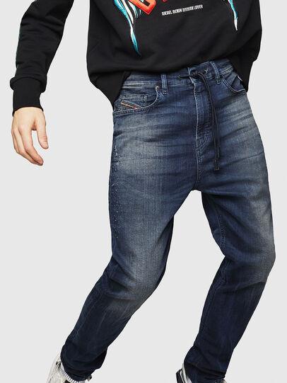 Diesel - D-Vider JoggJeans 069HV, Dunkelblau - Jeans - Image 4