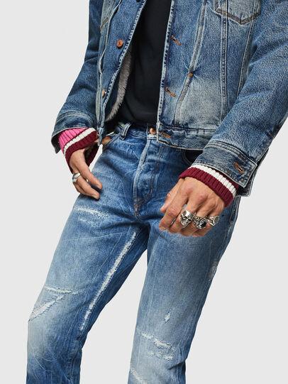 Diesel - Mharky 0078B, Hellblau - Jeans - Image 4