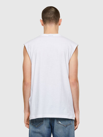Diesel - T-OP, Bianco - T-Shirts - Image 2