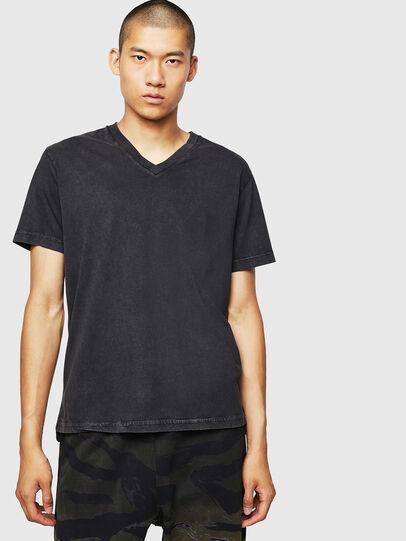 Diesel - T-THEA, Schwarz - T-Shirts - Image 1