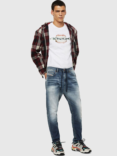 Diesel - D-Vider JoggJeans 069IP, Mittelblau - Jeans - Image 5