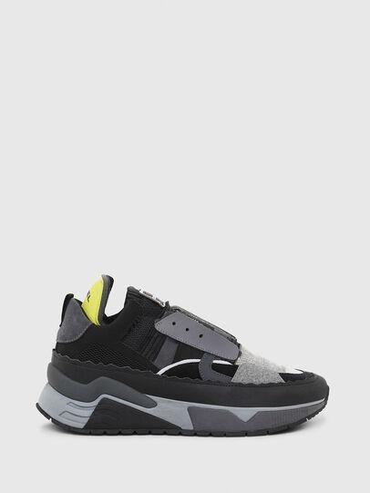 Diesel - S-BRENTHA DEC, Schwarz/Grau - Sneakers - Image 1