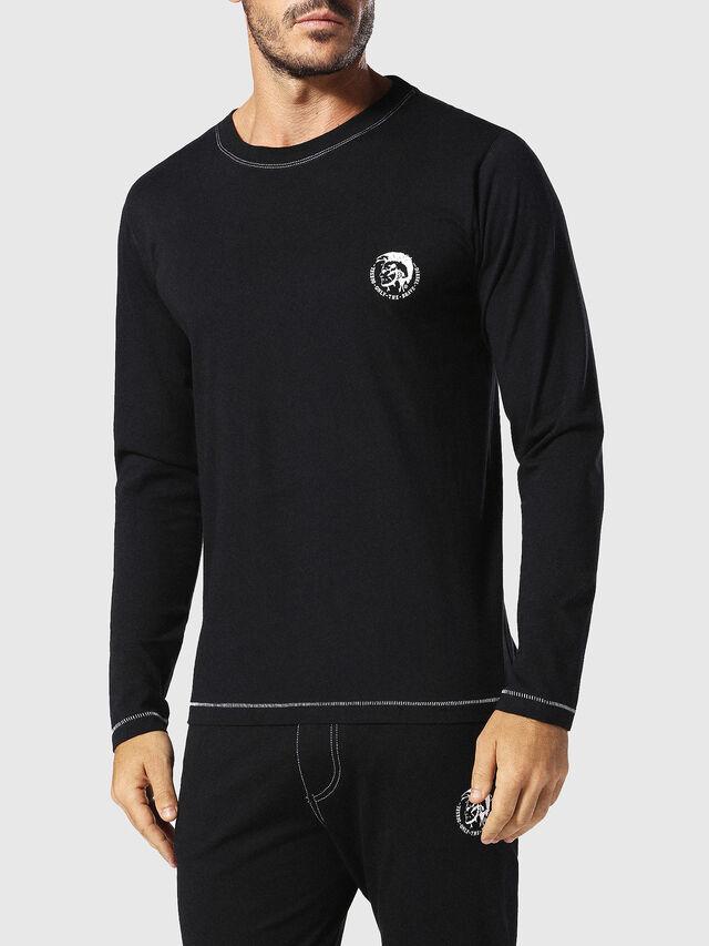 Diesel UMLT-JUSTIN, Schwarz - T-Shirts - Image 1