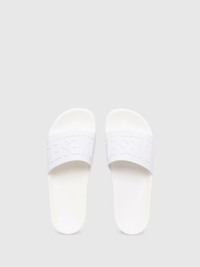 Diesel - SA-MAYEMI W, White - Slippers - Image 4