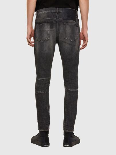 Diesel - D-Strukt 009MZ, Noir/Gris foncé - Jeans - Image 2