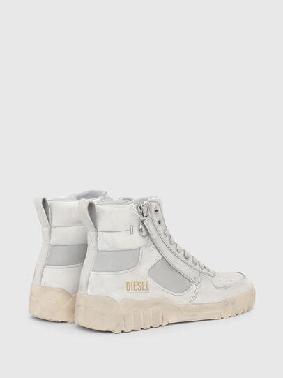 Diesel - S-RUA MID SK, Weiß - Sneakers - Image 3