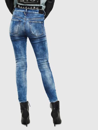 Diesel - Slandy High 0096J, Mittelblau - Jeans - Image 2