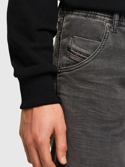Diesel - D-KROOSHORT JOGGJEANS, Noir - Shorts - Image 4