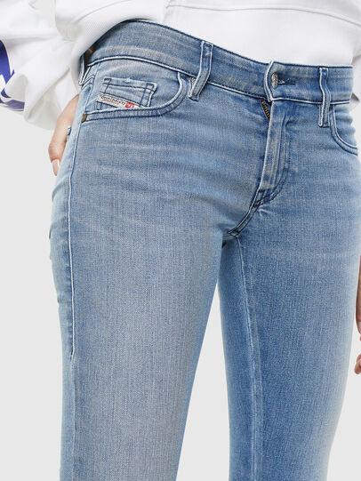 Diesel - Slandy Low 0096L, Hellblau - Jeans - Image 3