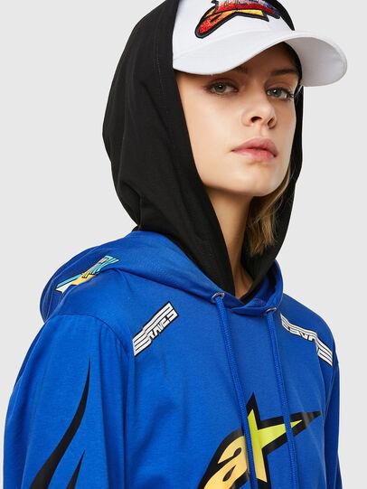 Diesel - ASTARS-T-JUSTOOD-FL, Blau - T-Shirts - Image 3
