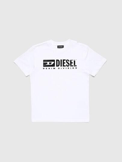 Diesel - TJDIVISION, Weiß - T-Shirts und Tops - Image 1