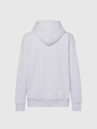 Diesel - S-ALBY-X1, Weiß - Sweatshirts - Image 2