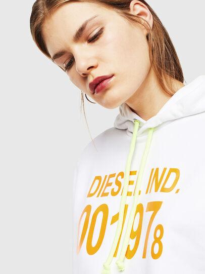 Diesel - S-GIRK-HOOD, Weiß - Sweatshirts - Image 5