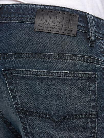 Diesel - Thommer JoggJeans 069NT, Dunkelblau - Jeans - Image 4