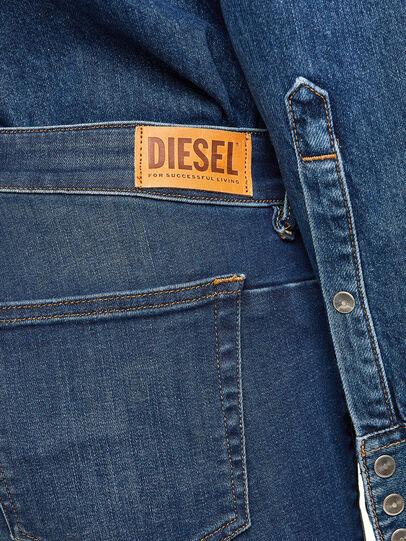 Diesel - D-Jevel 009HL, Dark Blue - Jeans - Image 6