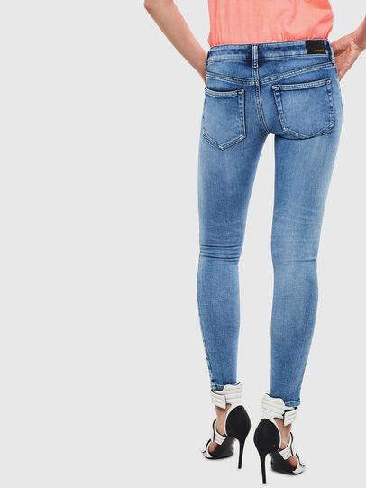 Diesel - Slandy Low 0095P, Hellblau - Jeans - Image 2