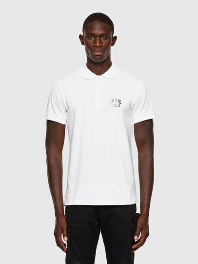 Diesel - T-RANDY-NEW-A2, Blanc - Polos - Image 1