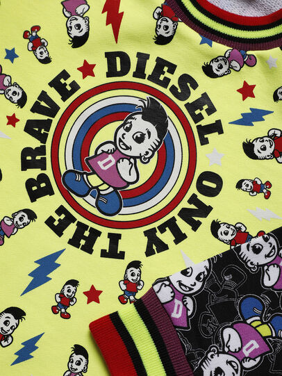 Diesel - DISSAB-R, Jaune/Noir - Robes - Image 3