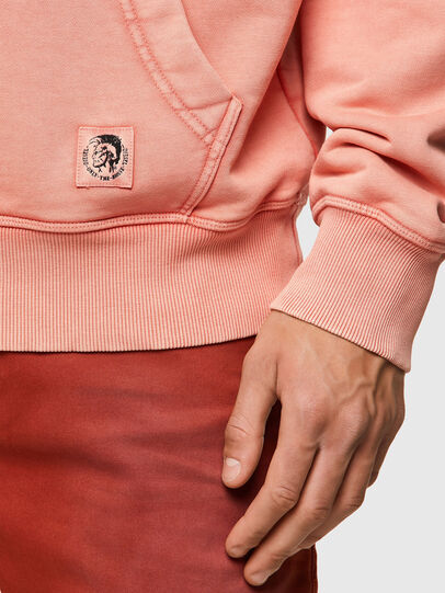 Diesel - S-GIRK-HOOD-MOHI-B1, Rosa - Sweatshirts - Image 3