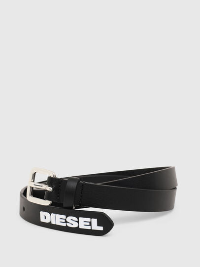 Diesel - B-LOWGO, Schwarz - Gürtel - Image 2