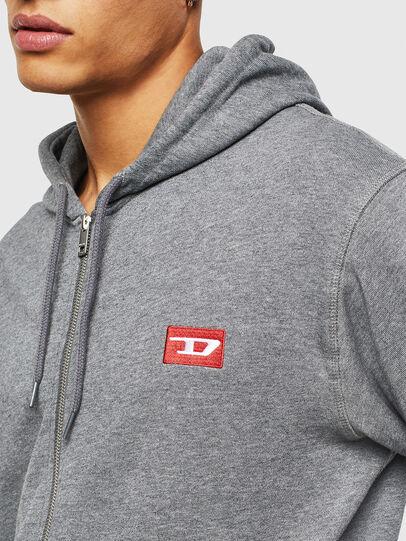 Diesel - UMLT-BRANDON-Z, Grau - Sweatshirts - Image 3