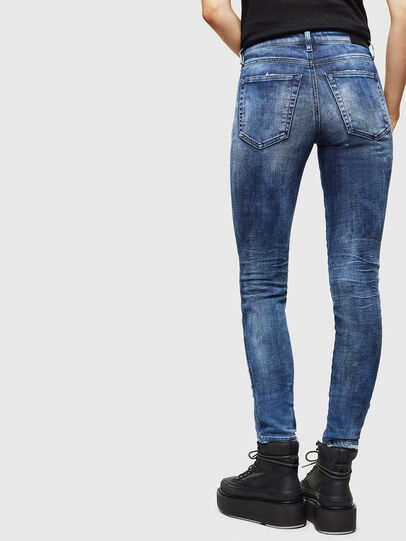 Diesel - Babhila 0096Q, Mittelblau - Jeans - Image 2