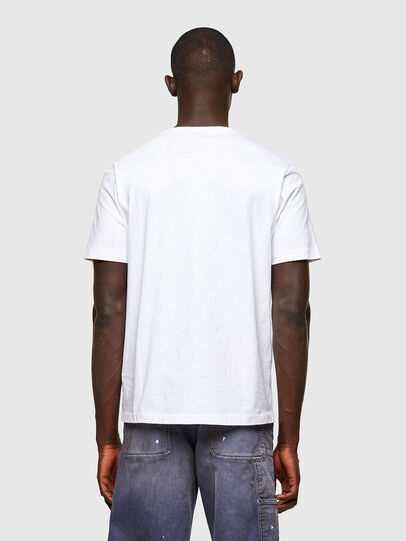 Diesel - T-JUST-A43, Bianco - T-Shirts - Image 2