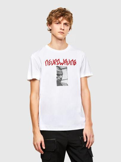 Diesel - T-IEGO, Weiß - T-Shirts - Image 1