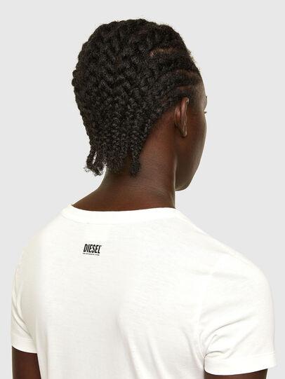 Diesel - T-SOAL-R1, Weiß - T-Shirts - Image 4