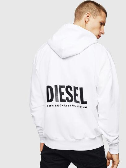 Diesel - LR-S-GIRK-HOOD-VIC, Weiß - Sweatshirts - Image 2