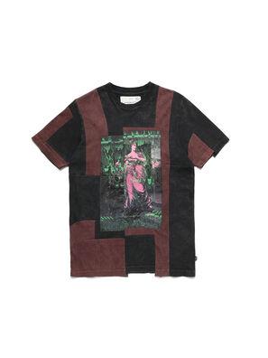 D-FRANK&STEIN, Rot/Schwarz - T-Shirts