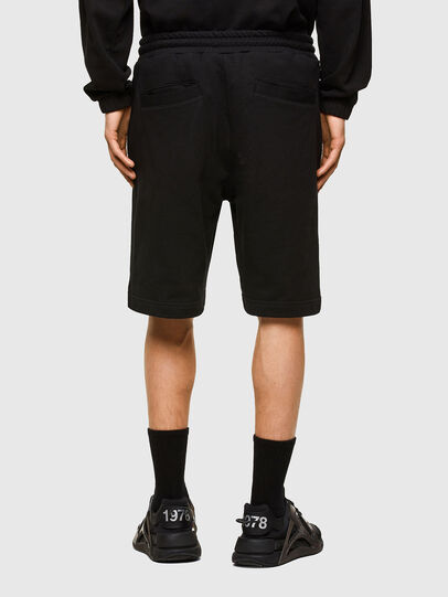 Diesel - P-CROWN-LOGO, Nero - Shorts - Image 2